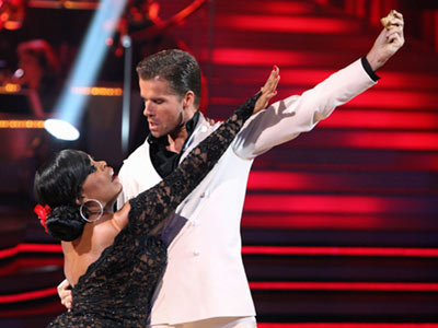 Dancing With the Stars | 7. NIECY NASH AND LOUIS VAN AMSTEL: ARGENTINE TANGO These two kept it classic for the tango, too...until Louis pulled the ''U Can't Touch This…