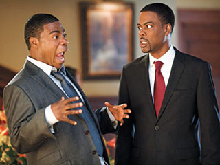 Death at a Funeral   FAMILY MEN Tracy Morgan and Chris Rock in Death at a Funeral