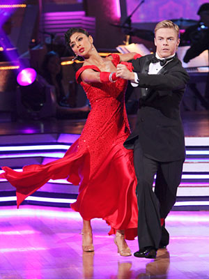 Dancing with the Stars | NICOLE SCHERZINGER AND DEREK HOUGH: TANGO It's the opera scene from Pretty Woman except MEGAFIERCE.