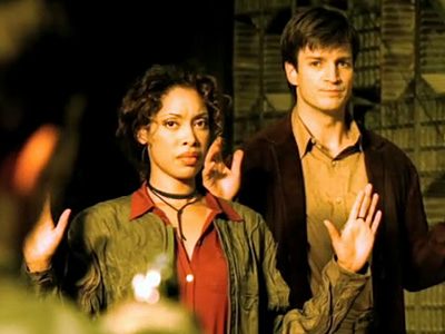 Firefly | FIREFLY , ''Out of Gas'' ''The touching scenes showing how the Serenity family came together, framed by the pathos of present-day Mal preparing to go…