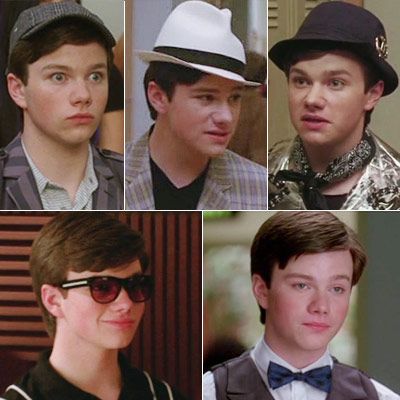 Glee, Chris Colfer   Kurt is the king of accessories, jazzing up his outfits with hats, sunglasses, and scarves. And ever since he asked for a pair of sensible…