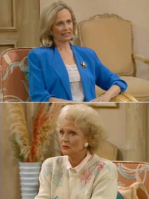 The Golden Girls, Bea Arthur, ...   Season 3, episode 15: ''Dorothy's New Friend'' Dorothy's new friend Barbara rubs the rest of the crowd the wrong way Barbara : No, I'm just…