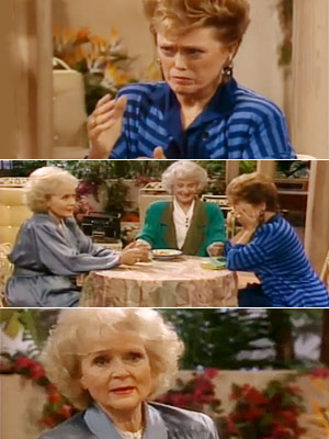 The Golden Girls, Bea Arthur, ...   Season 5, episode 9: ''All That Jazz'' Dorothy's son returns, and Rose copes with work-related stress Rose : The hardest part for me was explaining…