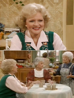 The Golden Girls, Bea Arthur, ...   Season 2, episode 26: ''Empty Nests'' The girls help their neighbors in this back-door pilot for Empty Nest. Rose : I used to loooove washing…