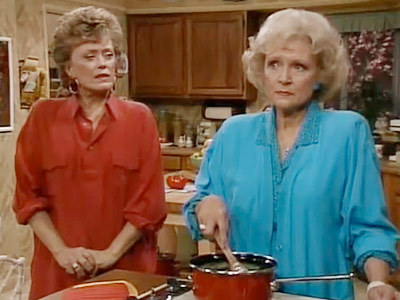 The Golden Girls, Bea Arthur, ...   Season 4, episode 9: ''Scared Straight'' Blanche's brother visits, and Rose helps convince him to come out to Blanche Blanche : Rose, honey, there's something…