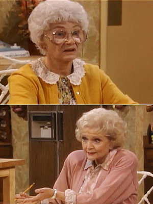 The Golden Girls, Bea Arthur, ...   Season 7, episode 11: ''From Here to the Pharmacy'' Rose helps Sophia write her will Rose : Sophia, wills are no joking matter! Charlie tried…