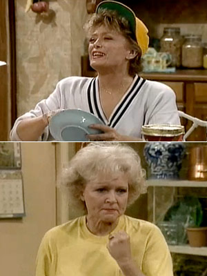 The Golden Girls, Bea Arthur, ...   Season 4, episode 4: ''Yokel Hero'' Rose is nominated for St. Olaf's Woman of the Year award Rose : You know, it doesn't matter whether…