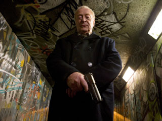 Michael Caine, Harry Brown | RETIREE WITH A HANDGUN Michael Caine is mad as hell in Harry Brown