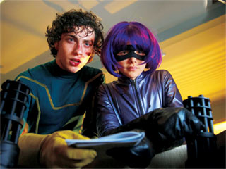 Kick-Ass | TRUTH AND JUSTICE Aaron Johnson and Chloë Grace Moretz play superheroes in Kick-Ass
