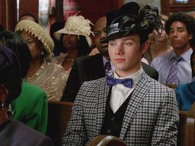 Glee, Chris Colfer   4. THE ''CHRIST CHIC'' INFLUENCE Like Kurt, you may not believe in ''The Great Spaghetti Monster in the Sky,'' but you should never turn down…