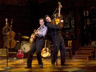 The Million Dollar Quartet | MILLION DOLLAR QUARTET Robert Britton Lyons and Lance Guest