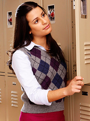 Lea Michele, Glee | RACHEL (LEA MICHELE) Where we left her: The New Directions crew was afraid that Rachel ''Trout Mouth'' Berry would spill the news that Puck was…