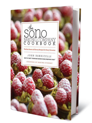 + BOOKS FOR COOKS THE SONO BAKING COMPANY COOKBOOK John Barricelli ($35) Grissini, apple pizzette, French blueberry tartlets, and more.