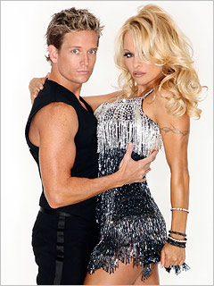 Dancing With the Stars, Pamela Anderson | BYE BYE, 'BAYWATCH' If she were a president, she'd be Babe-raham Lincoln.