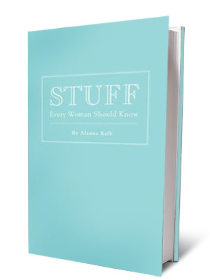 STUFF EVERY WOMAN SHOULD KNOW Alanna Kalb ($9.95) A nifty illustrated guide to all things essential: how to throw a football, how to select a…