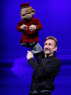 STUFFED AND UNSTRUNG Brian Henson (Jim Henson's oldest son) is one of six puppeteers