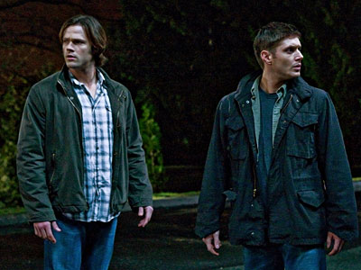 Supernatural, Jared Padalecki, ... | Supernatural recap: Knocking on heaven's door Dean's happy place included things like shooting fireworks with Sammy circa 1996 and consuming crust-less PB&Js prepared by his…