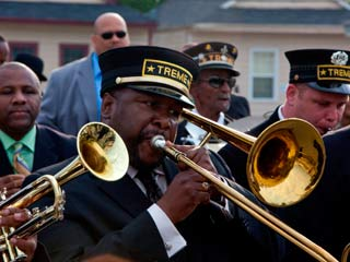 FEEL THE RHYTHM Treme , featuring Wendell Pierce (pictured), blends bluntness (regarding New Orleans' post-Katrina situation) with the nuances of gorgeous music.