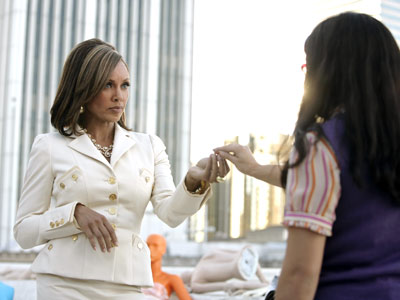 Vanessa Williams, Ugly Betty   ''Look, I'm black, you're Mexican, let's not beat around the bush like a couple of dull white people!'' Wilhelmina (Vanessa L. Williams), Ugly Betty Submitted…