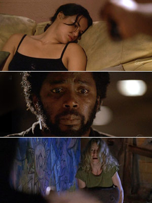 Lost (Season 2 -- Episode 20: Two for the Road), Harold Perrineau | I have to say the Michael shooting Ana Lucia moment turned the show into must-see TV for me. It was such a shock for Michael…