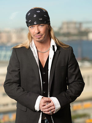 Bret Michaels | ROCKING THE BOAT Bret played nice but still showed off his bad-boy bonafides.