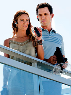 Burn Notice | BURNING HOT The fourth season of Burn Notice stays true to the show's formula, which combines old-school action with new-school archness.