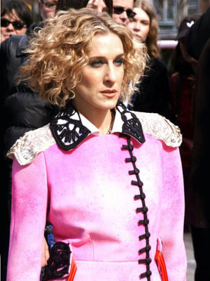 Sarah Jessica Parker, Sex and the City | Her love life's a circus, but that's no reason to dress like a ringmaster.