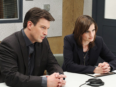 Castle, Nathan Fillion, ... | Castle recap: Food for thought ''You have no idea how hard it is to love someone knowing they're gonna break your heart,'' she told Beckett…