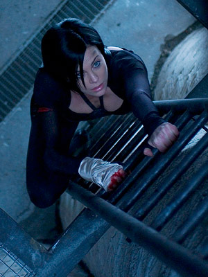 Aeon Flux, Charlize Theron | CHARLIZE THERON as Aeon Flux AEON FLUX Ultimate Hottie Moment: Any scene where she demonstrates her super-flexibility. It's like Cirque du Soleil, only sexy instead…