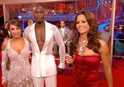 Dancing With the Stars | BROOKE BURKE: CRAZY SNAKE NECKLACE Hiss! Check out last week's Costume Watch