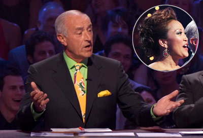Dancing With the Stars | LEN GOODMAN: IN LIVING COLOR Tom said DANCMSTR looked like he'd gotten dressed at Pixar. Meanwhile, that fly girl Carrie Ann had done her hair…
