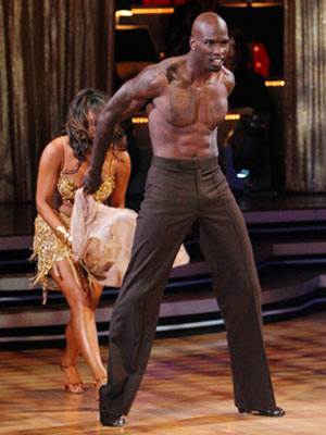 Dancing With the Stars | CHAD OCHOCINCO AND CHERYL BURKE: SAMBA Next week, he'll take the pants off, too. It's your job to vote.