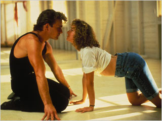 Dirty Dancing, Dirty Dancing: Limited Keepsake Edition   IN A CORNER Patrick Swayze and Jennifer Grey get acquainted in Dirty Dancing