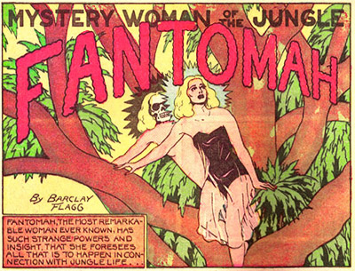 Why She Deserves a Movie: One of the many curious creations of cult comics maestro Fletcher Hanks, Fantomah (the Mystery Woman of the Jungle) has…