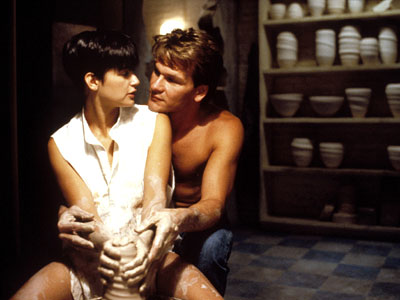 Ghost, Demi Moore, ... | BEST NUDE-ISH SCENE Demi Moore and Patrick Swayze in Ghost . ''Time can do so much,'' but it can never diminish the general fascination with…
