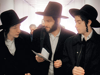Holy Rollers | THE ENVELOPE, PLEASE Jesse Eisenberg, Justin Bartha, and Jason Fuchs in Holy Rollers