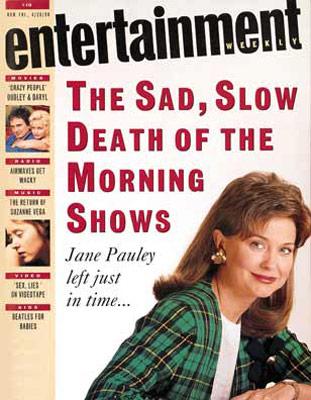REGRETTABLE HAIR Bad, mullet-y bangs like Jane Pauley's on the cover of EW.
