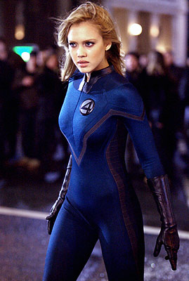 Fantastic Four, Jessica Alba | JESSICA ALBA as Sue Storm FANTASTIC FOUR Ultimate Hottie Moment: After temporarily exchanging powers with the Human Torch, the sole female of the Fantastic Four…