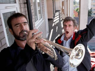 Looking for Eric | HORN SECTION Eric Cantona and Steve Evets sound off in Looking for Eric