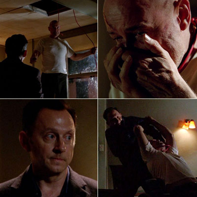 Lost (Season 5 -- Episode 7: The Life and Death of Jeremy Bentham), Michael Emerson, ... | Worst: Ben stopping Locke from committing suicide — and later murdering him.—MB When Ben saved Locke, then killed him...NEVER SAW IT COMING. Whoa. —Justin