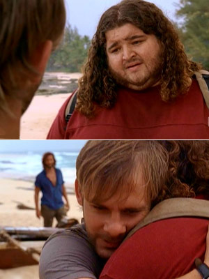 Jorge Garcia, Lost, ... | ''Through the Looking Glass'' (Season 3, Episode 22) Charlie's last talk with Hurley, when Charlie knew he wouldn't be returning, was painful to watch. Hurley's…