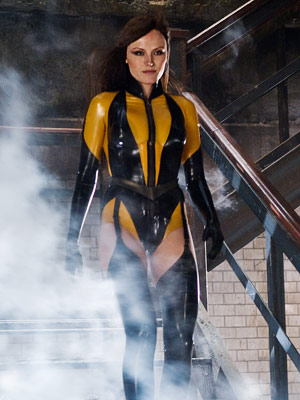 Watchmen, Malin Akerman | MALIN ACKERMAN as Laurie Jupiter/Silk Spectre II WATCHMEN Ultimate Hottie Moment: The fact that Ackerman remained sexy throughout the film's decidedly unerotic midair sex scene,…