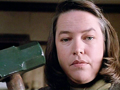 Misery, Kathy Bates | THE BAD MAN SCARES ME! Kathy Bates in Misery