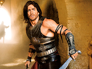 Prince of Persia: The Sands of Time, Jake Gyllenhaal | VALIANT PRINCE Jake Gyllenhaal and his costar, Jake Gyllenhaal's hair, in Prince of Persia: The Sands of Time
