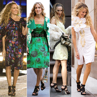 Sex and the City, Sarah Jessica Parker | Patricia Field on Carrie?s favorite pair Carrie isn?t known for recycling — fashion at least — which is what made one pair of sandals so…