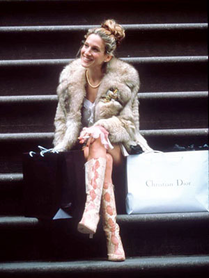 Sarah Jessica Parker, Sex and the City | The boots, the fur, that topknot... There are no words.