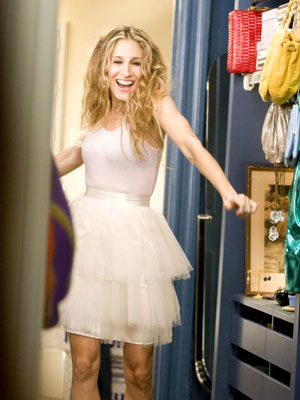 Carrie's iconic tutu earns itself a cameo in the movie.