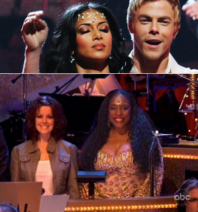 Dancing With the Stars | ''Hidden Gem!! It was nice to see that Nicole went to the backup singer store [ed. note: no, literally, Carmen Carter a.k.a. ''Princess Sparkle'' has…