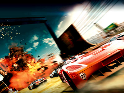 Ever wonder what it'd be like to drive through a Michael Bay movie? This action-packed videogame (rated E10+) about a reality TV car race through…