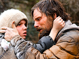 The Road, Viggo Mortensen | THE ROAD Viggo Mortensen and Kodi Smit-McPhee, in another cheery Cormac McCarthy film